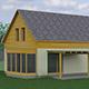 e-Finance dokončí v listopadu 2013 výstavbu čtyř rodinných domů v Moravském krasu, obec Krasová