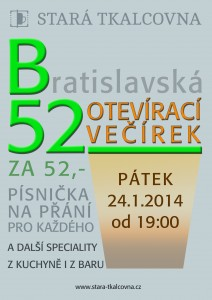 B52:Otevírací večírek
