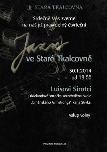 Jazz ve Staré Tkalcovně 30.1.2014
