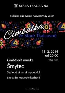 Moravský večer: Cimbálová muzika Šmytec