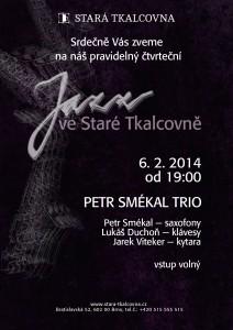Jazz ve Staré Tkalcovně 6. 2. 2014