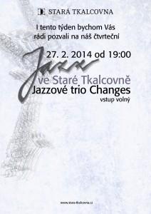 Jazzový čtvrtek: Jazzové trio Changes