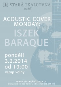 plagatek na acoustic cover monday iszek baraque