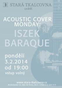 plagatek na acoustic cover monday iszek baraque