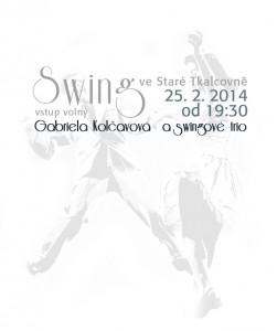 Swing v úterý: Gabriela Kolčavová a swingové trio