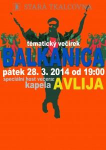 Tematický večírek: BALKANICA