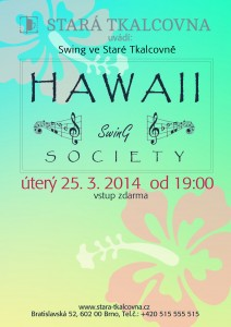 Swing v úterý: Hawaii Swing Society