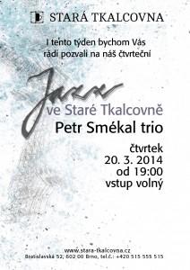Jazzový čtvrtek: Petr Smékal trio