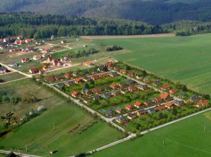 Letecká fotografie pozemku Babice nad Svitavou