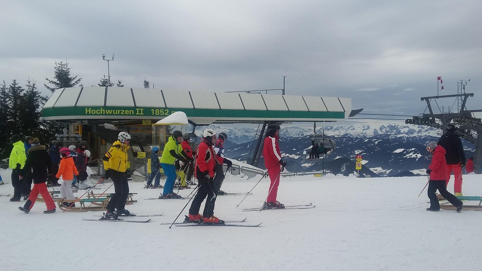 cestovní pojištění lyže, alpy